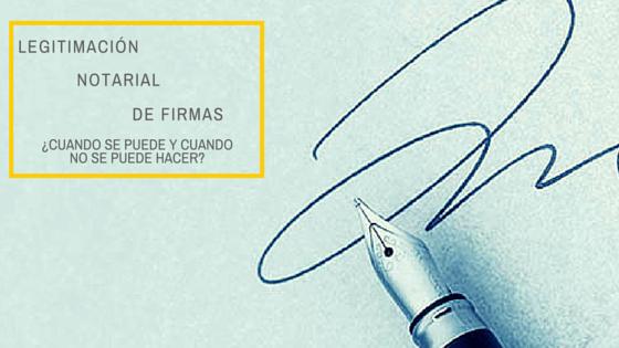 Legitimación de firma- Notario Francisco Rosales