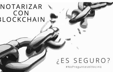 Notarizar con blockchain