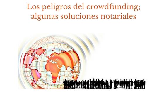 Riesgos del crowdfunding