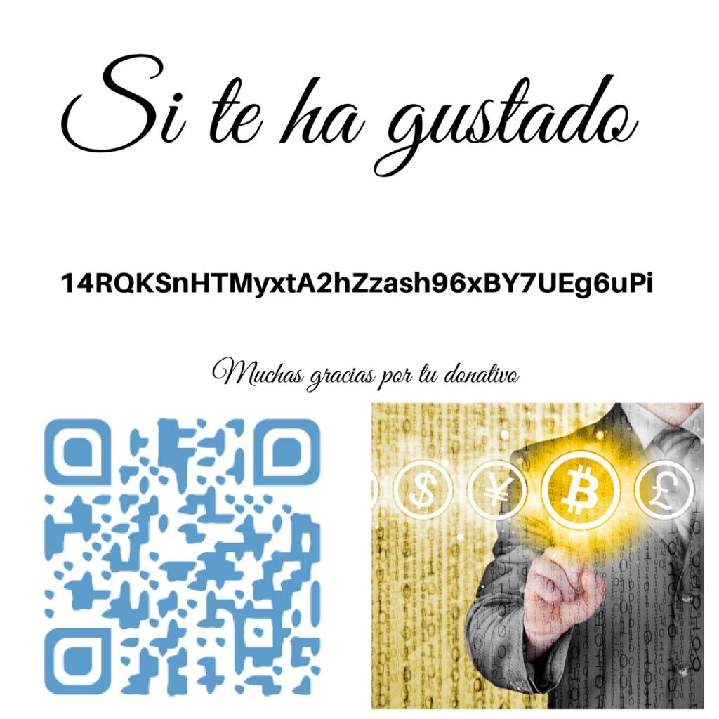 Si te ha gustado ¿haces una donación en Bitcoin?