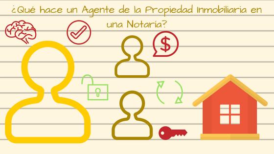 Qué hace un Agente de la Propiedad Inmobiliaria en una Notaría