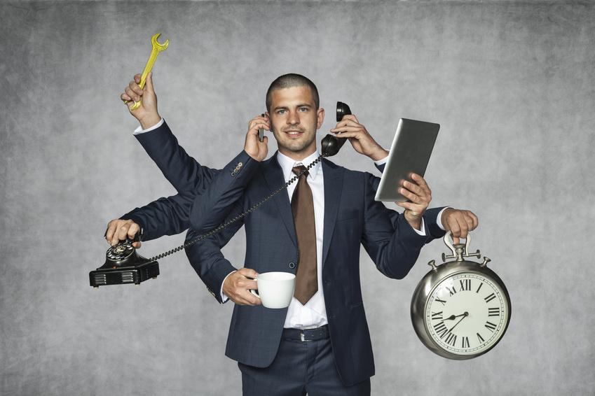 Actas notariales formateando un ordenador