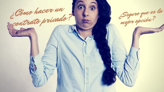Como hacer un contrato privado de compraventa de inmuebles